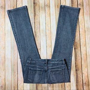 WHITE HOUSE BLACK MARKET Blanc Bootleg Jeans Sz-4R